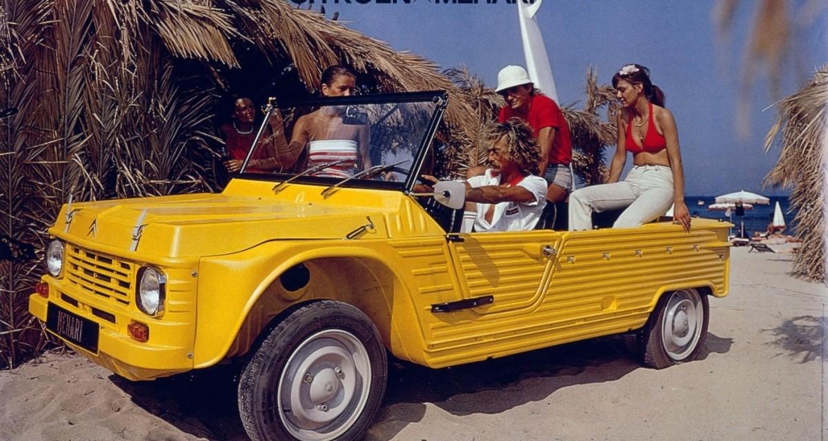 Citroen Mehari – trochę suv, trochę fun-car – pamiętasz go ?