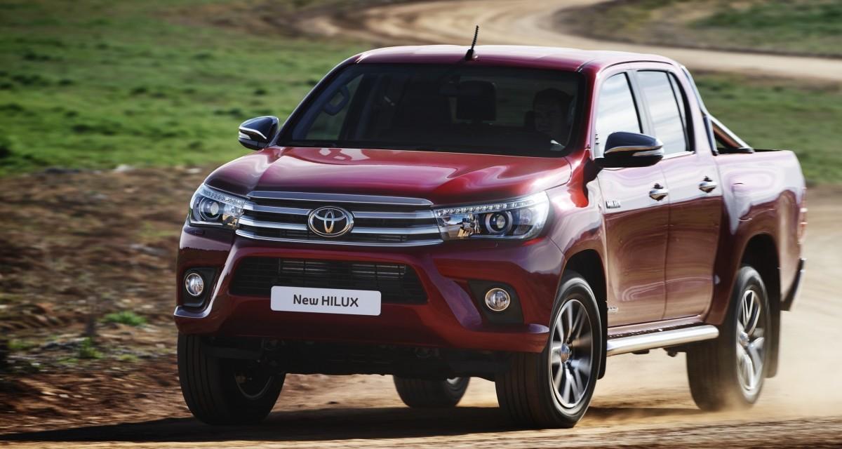Toyota Hilux 2016 – idzie nowe