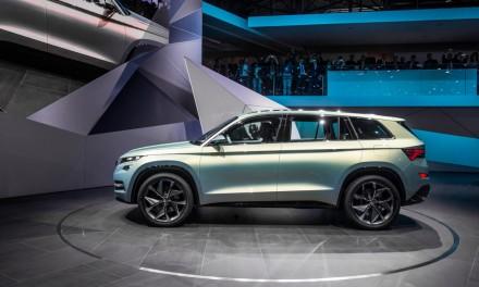Skoda VisionS – prapremiera nowego dużego SUVa z Czech